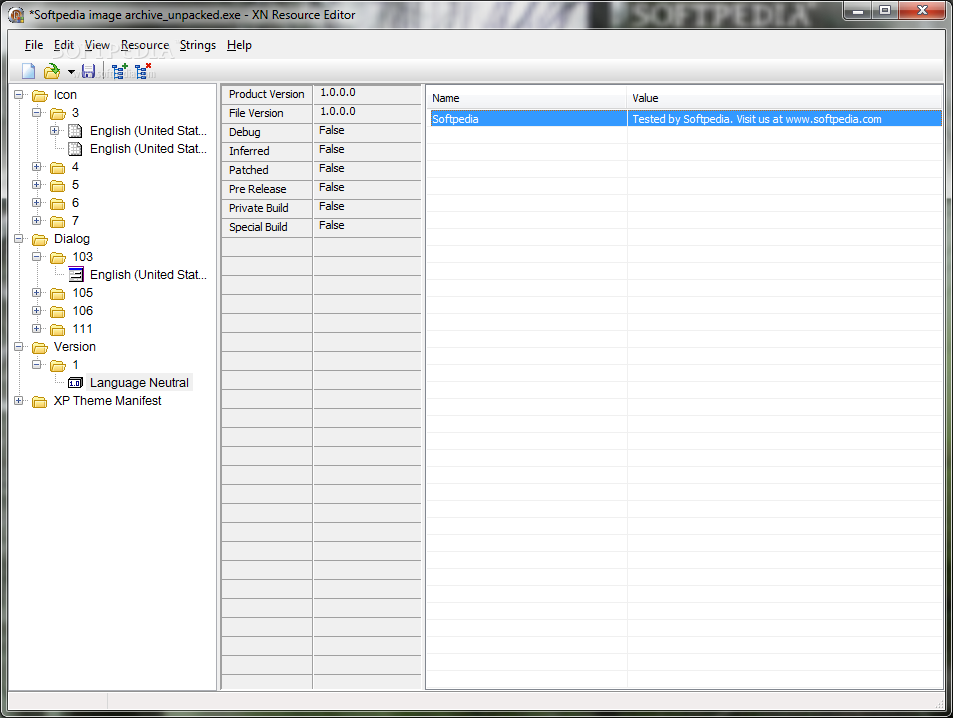 Viewing resource hacker v5. 1. 7 oldergeeks. Com freeware downloads.