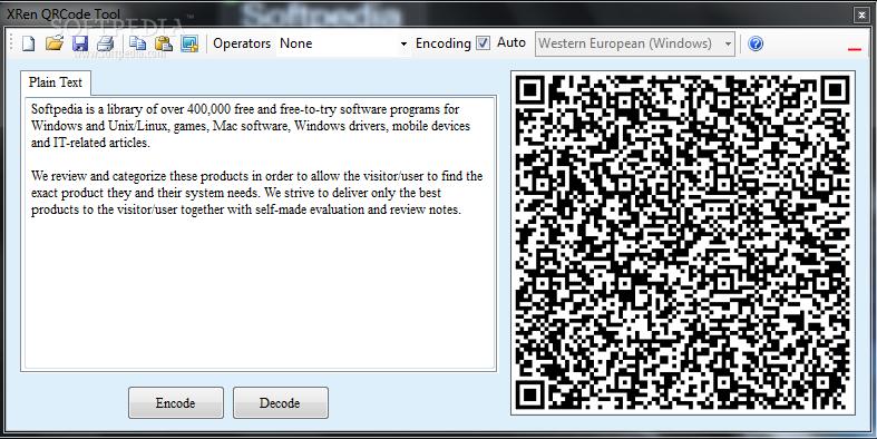 Download XRen QRCode 2 10