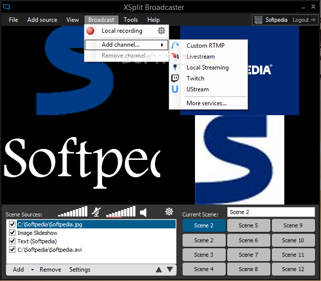 Download XSplit Broadcaster 3 7 1902 0712 / 3 8 1905 2104 Beta
