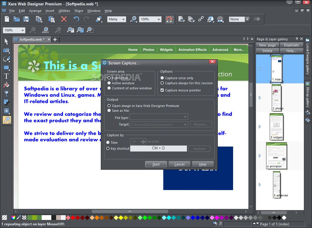 Download Xara Web Designer Premium 17 0 0 58775