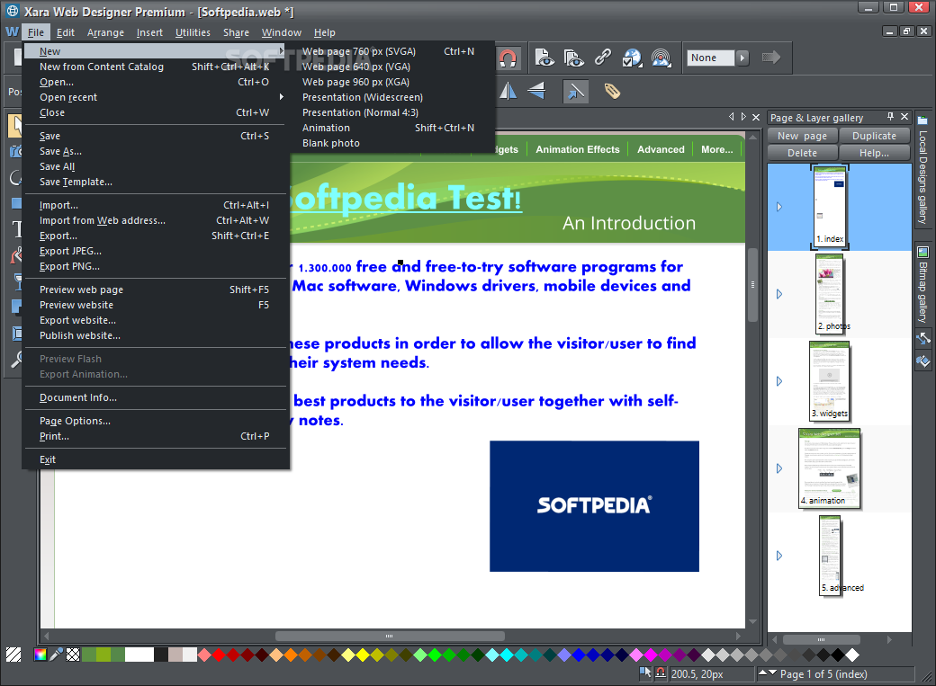 Download Xara Web Designer Premium 17 0 0 58775