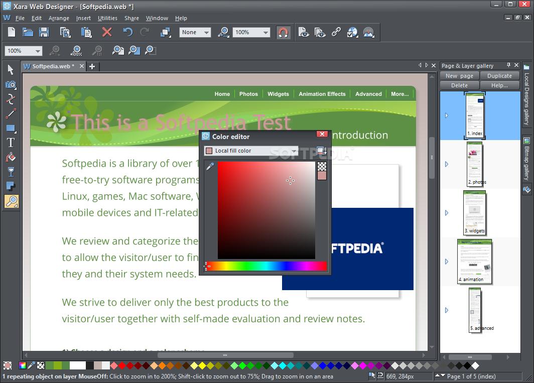 Download Xara Web Designer 12 6 2 49603