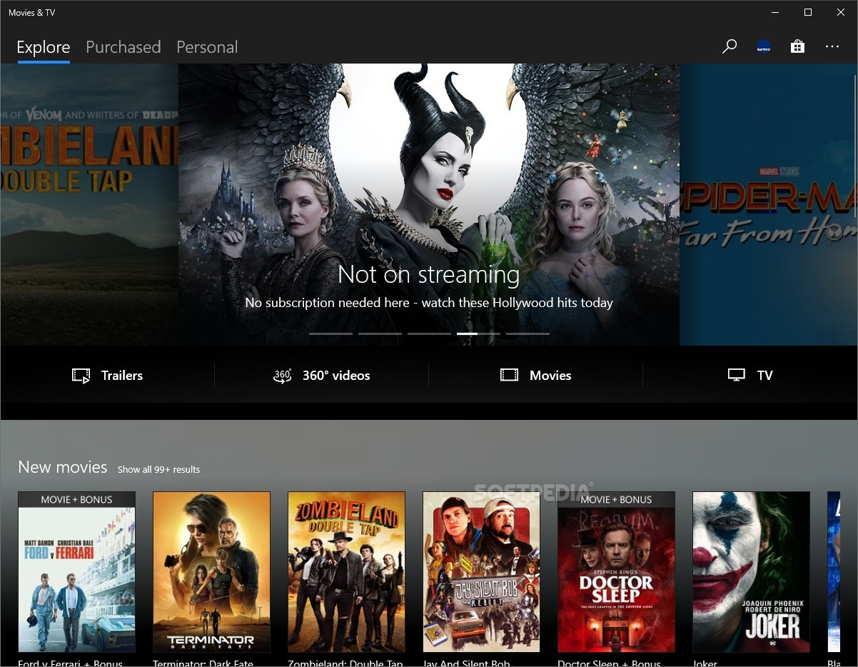 movies & tv app for windows 8.1