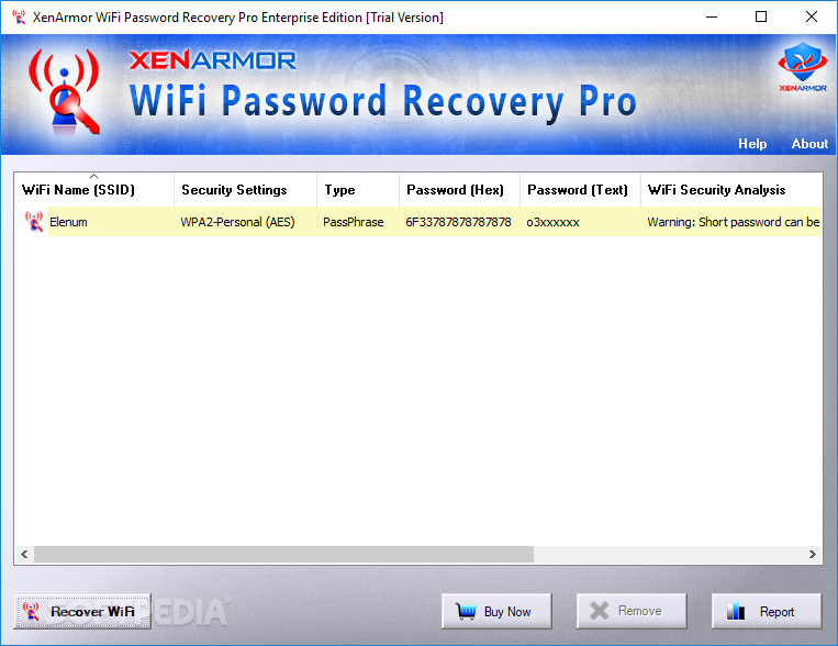 network password revealer free