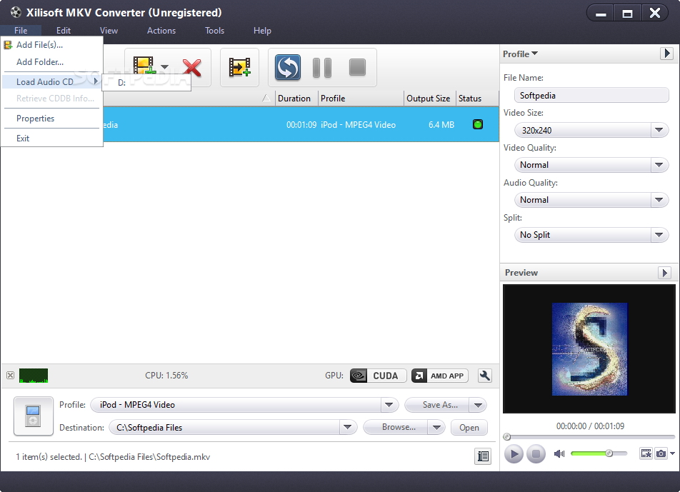how to add subtitle in xilisoft video converter