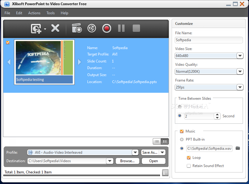 xilisoft powerpoint to video converter free