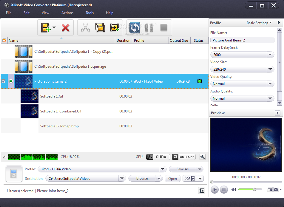 Xilisoft Video Converter Ultimate 7.8.23 Portable Free Download