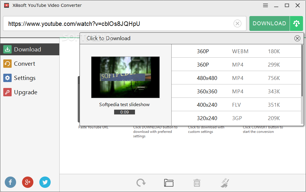 download youtube video converter