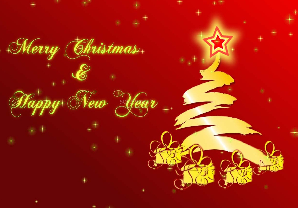xmas new year screensaver this is the animation that will be displayed on your