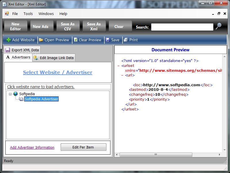 Download Xml Editor 2 0 1 6