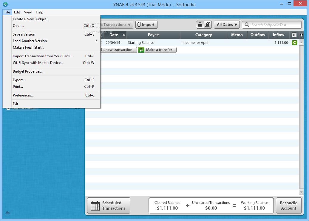 Download YNAB 4 3 857