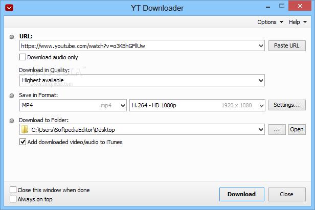 yt video download