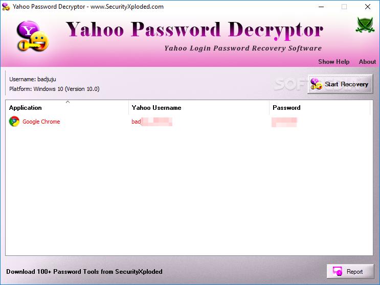Download Yahoo Password Decryptor 9 0