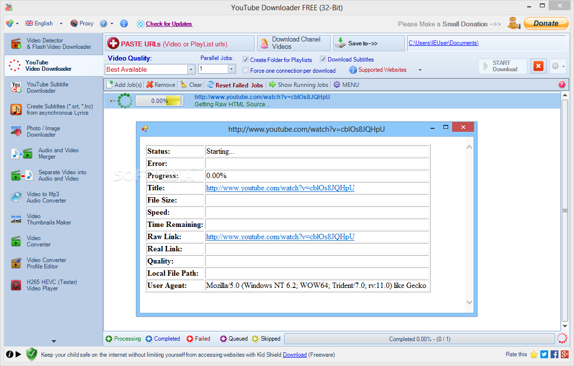 Download YouTube Downloader FREE 8 4 5 0