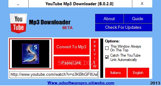 Download YouTube Mp3 Downloader Portable B 0 2 0 Beta