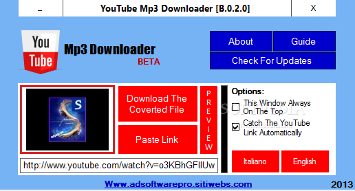 Download YouTube Mp3 Downloader Portable B 0 2 0 Beta