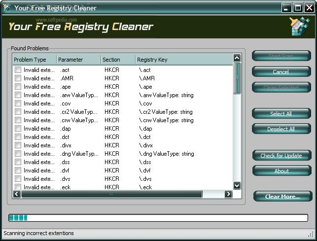 clean registry free