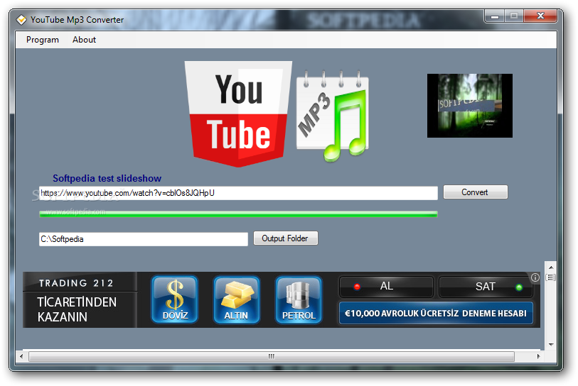 Download Youtube Mp3 Converter 1.0