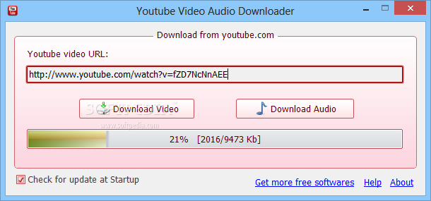 Easy way to download audio from youtube.