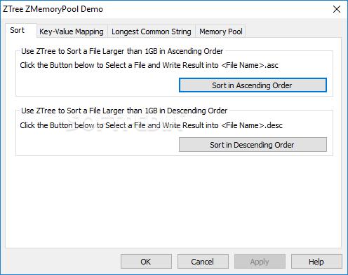 Download Z-Tree Z-MemoryPool 2 0 0