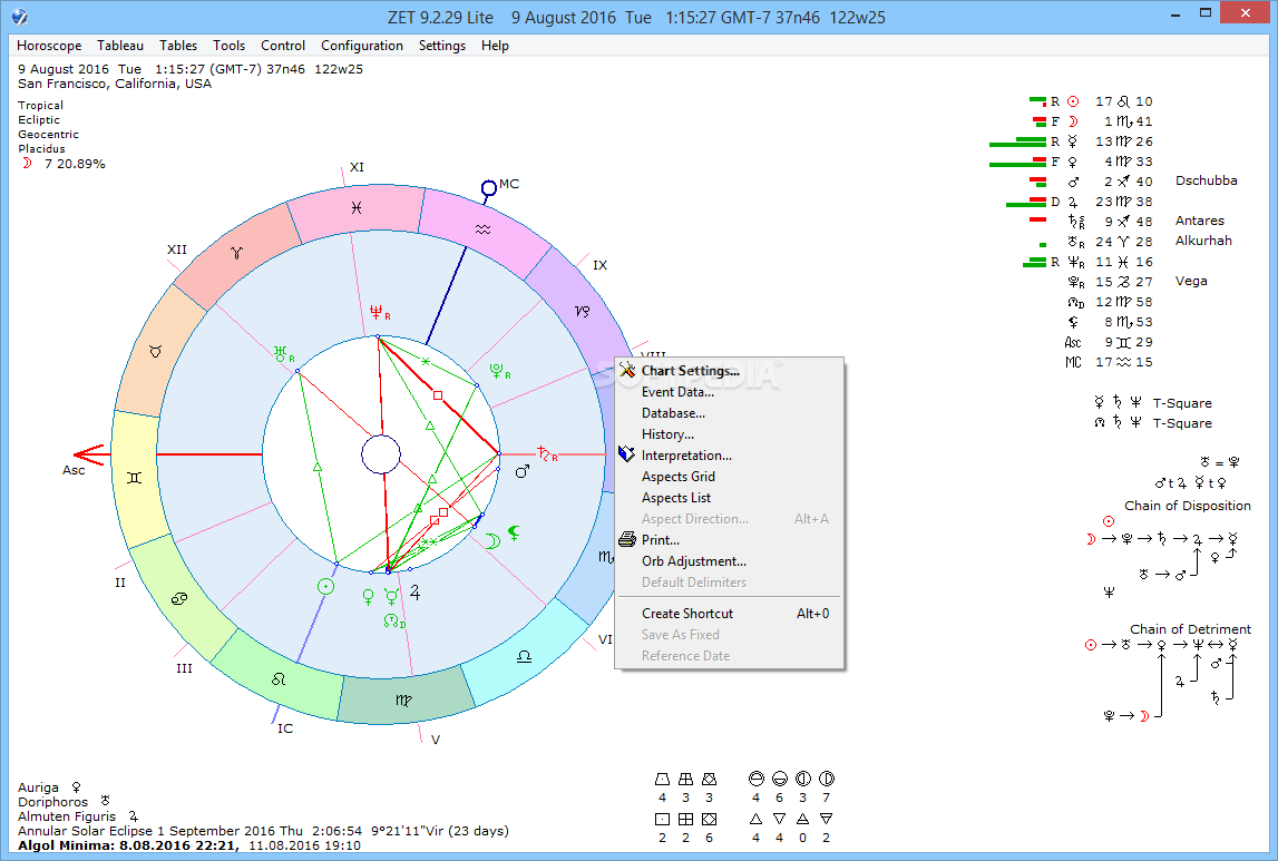 zet astrology software android
