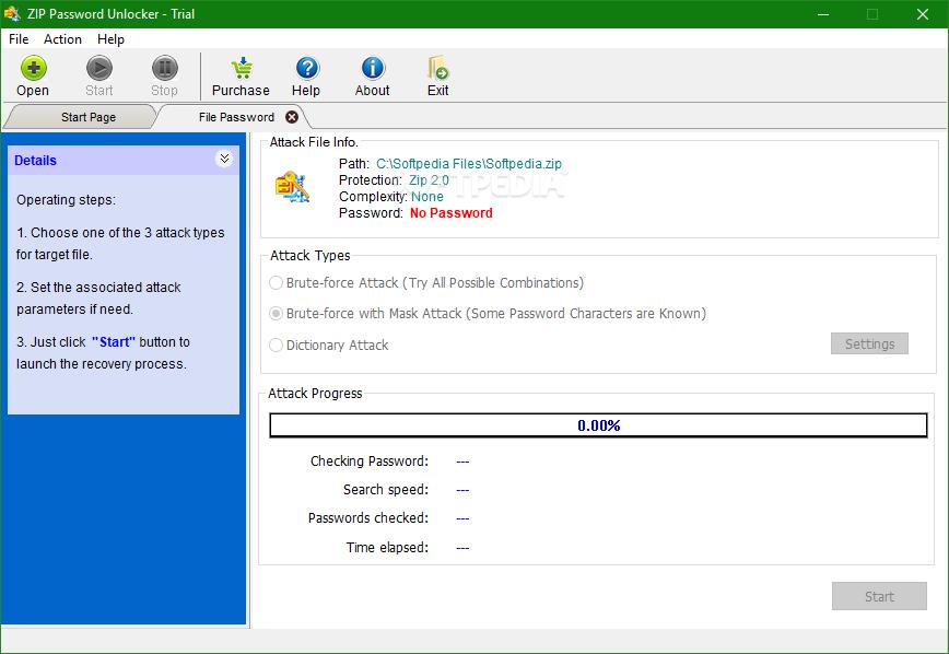 Download ZIP Password Unlocker 4 0