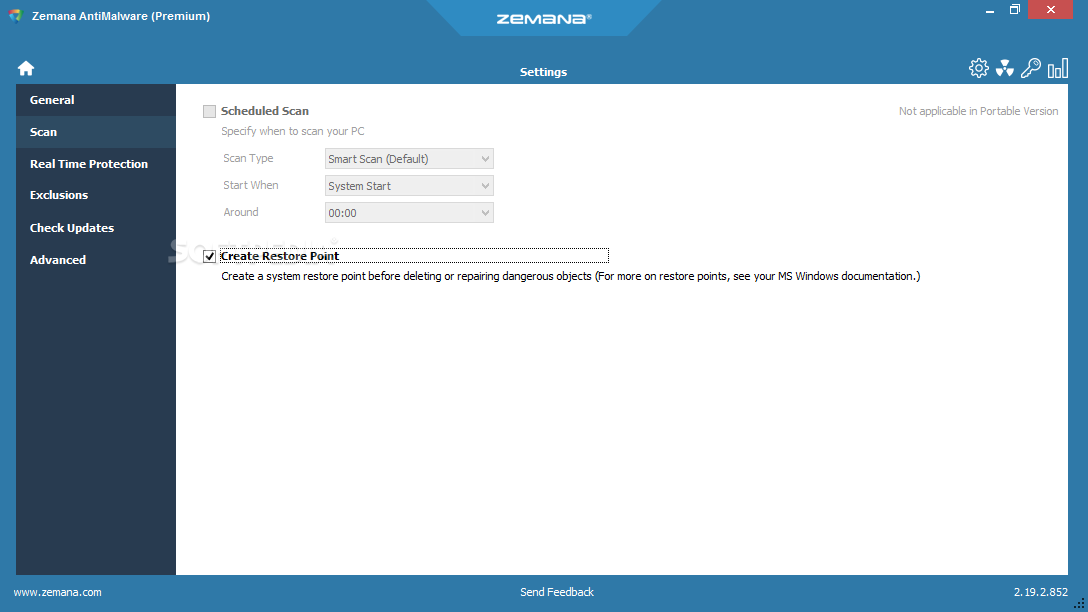 Download Zemana Antimalware Portable 2 74 2 664