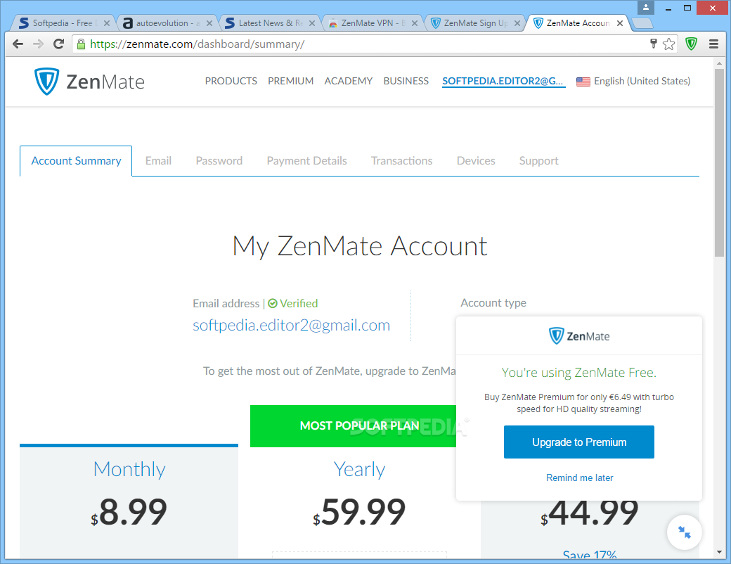 zenmate chrome download