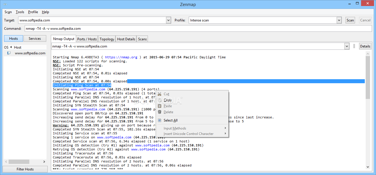 probing using zenmap gui Zenmap you can use zenmap, it is in the repository sudo apt-get install zenmap here is its website i think it is the official gui as the site is nmaporg umit if you don't like that one try umit, it is in the repository as well.