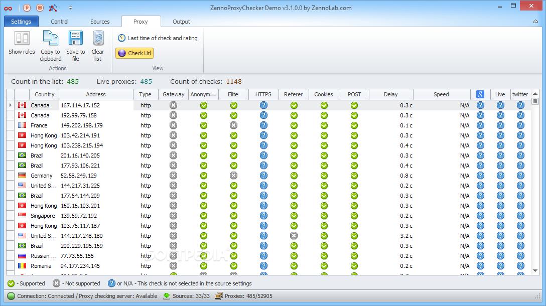 Download ZennoProxyChecker 3 2 0 0