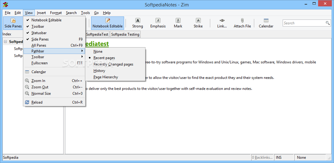 Zim Screenshot 4