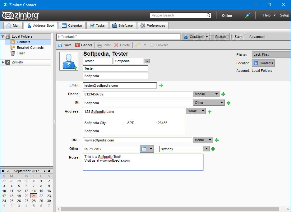 Download Zimbra Desktop 7 3 1 Build 13063