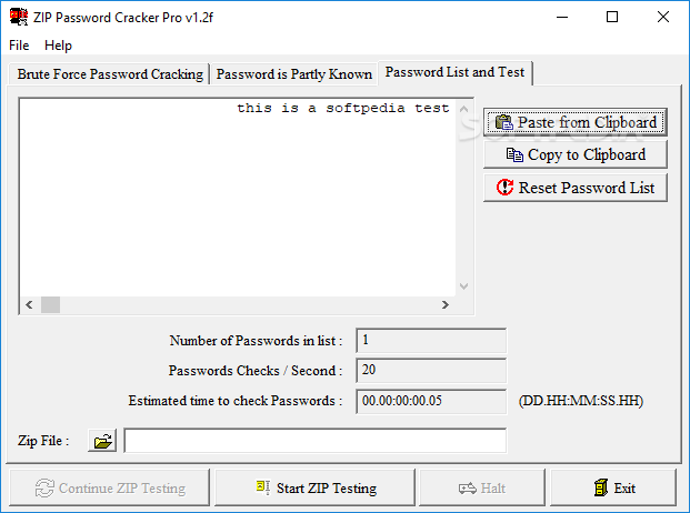 Download Zip Password Cracker Pro 2 1f