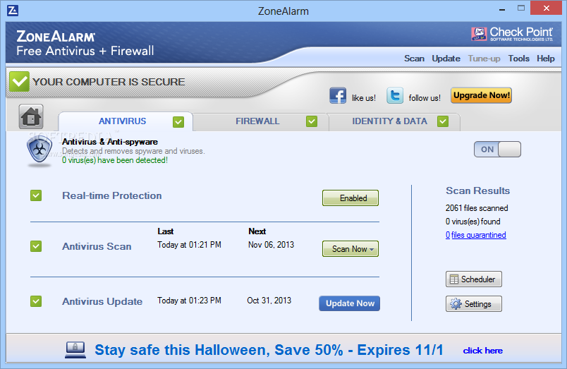 ZoneAlarm Free Antivirus + Firewall Download