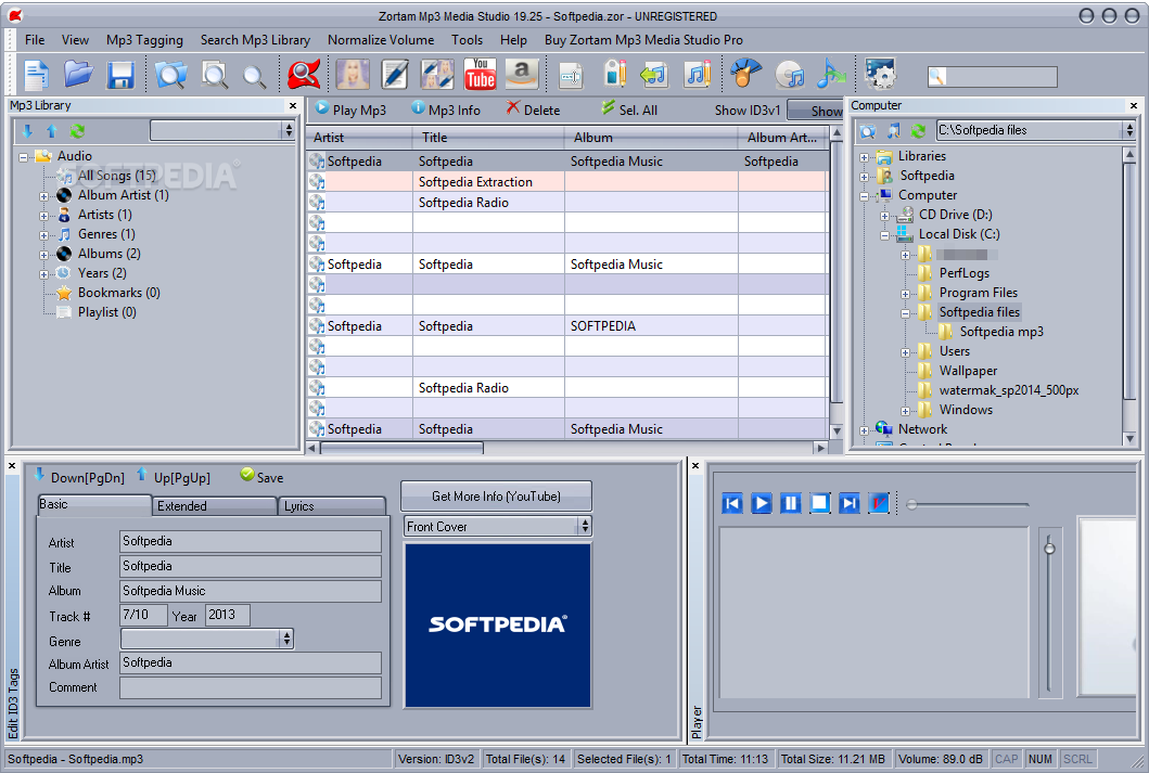 Zortam mp3 media studio 10.40