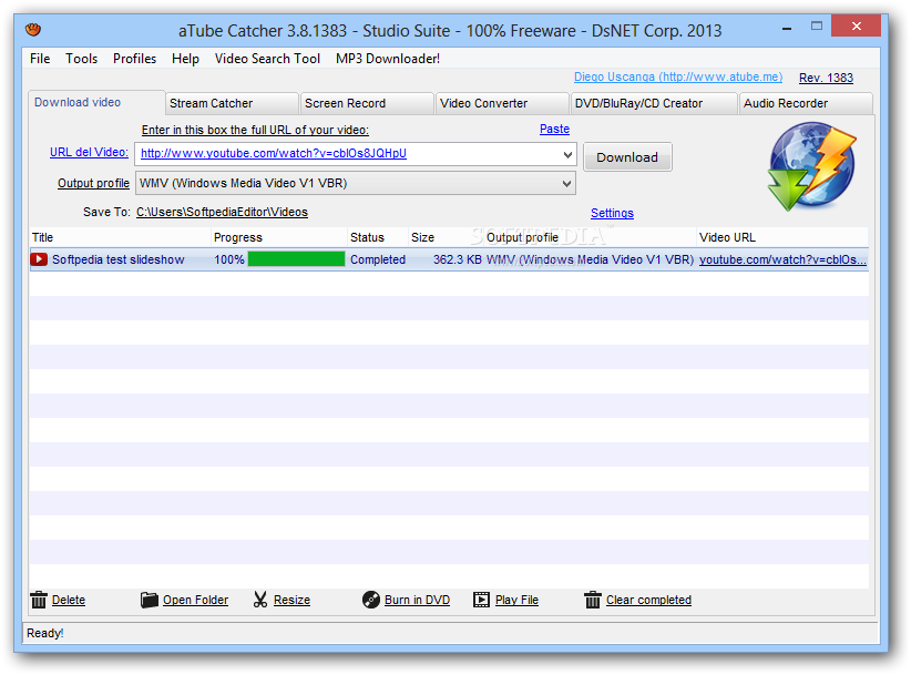 descargar gratis atube catcher para windows 8
