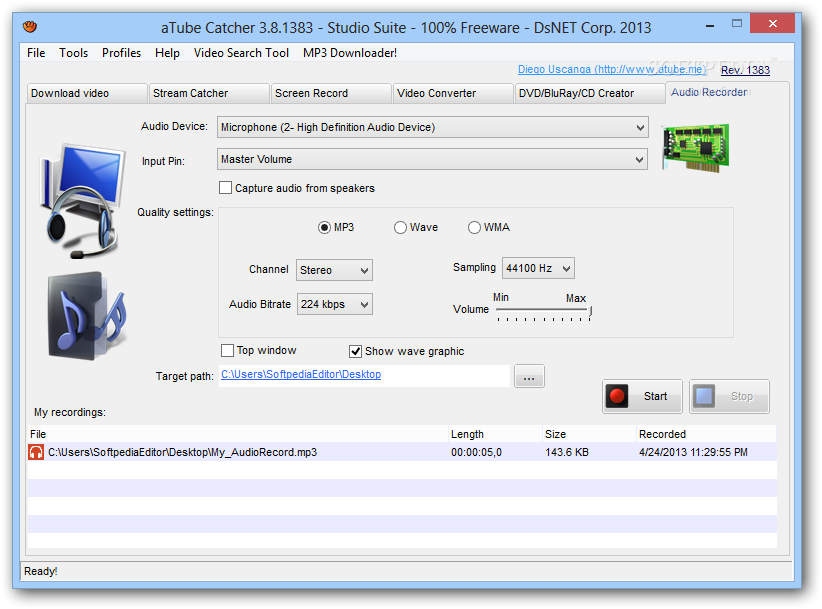 how to use atube catcher to download videos