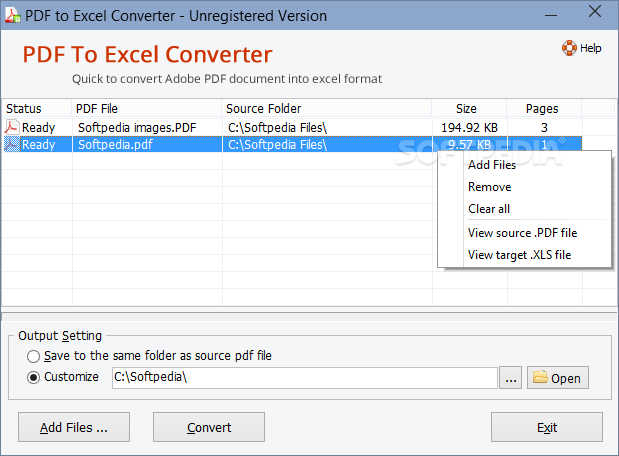 tool to convert pdf to excel