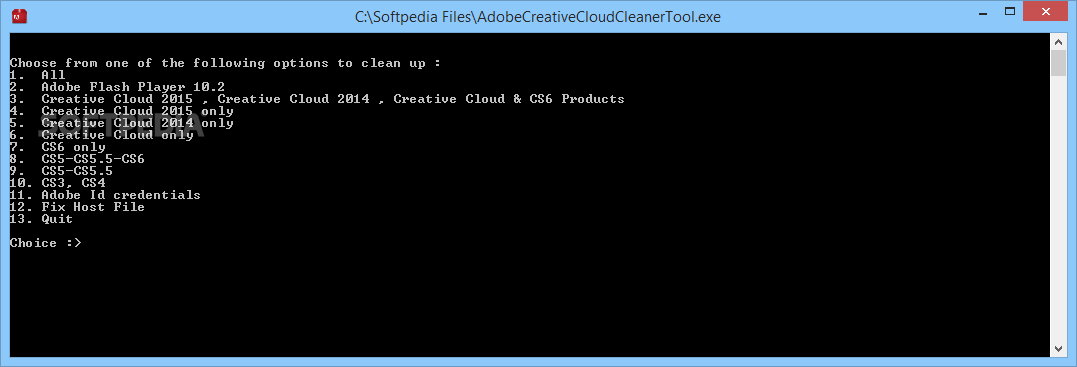 adobe creative cloud removal tool