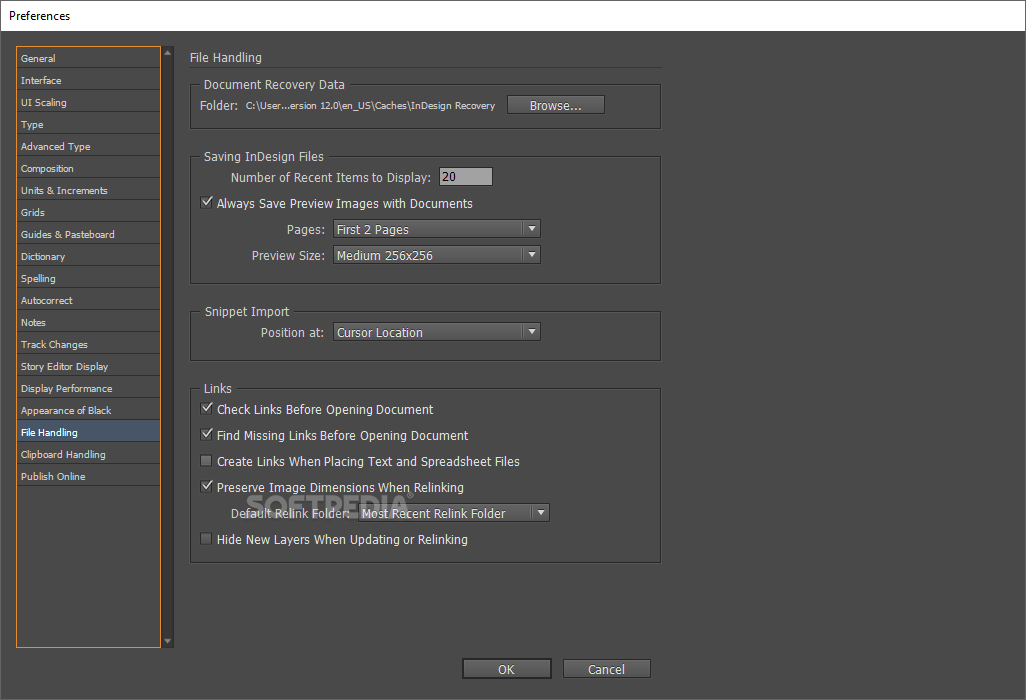 how to make a screen shot in indesign
