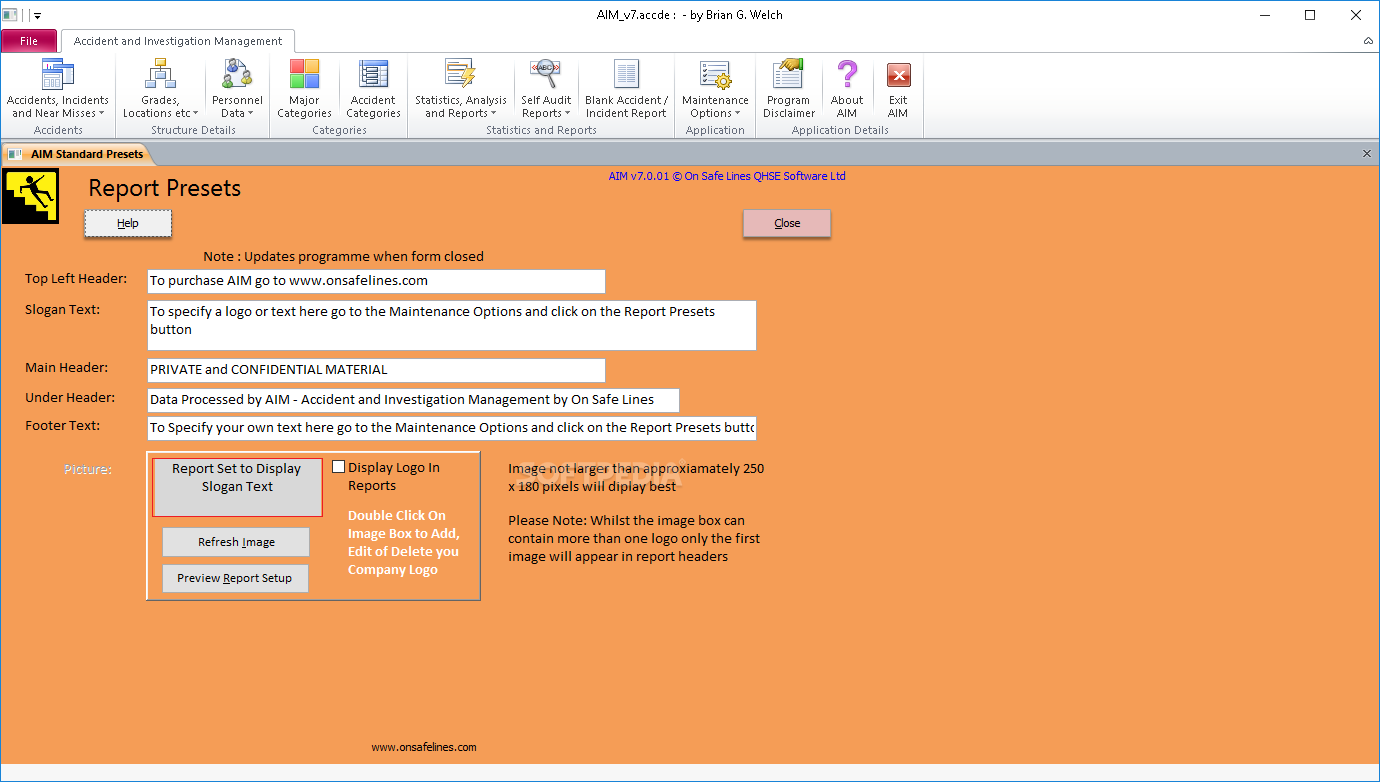 Download AIM - Accident and Investigation Management 7.2.04