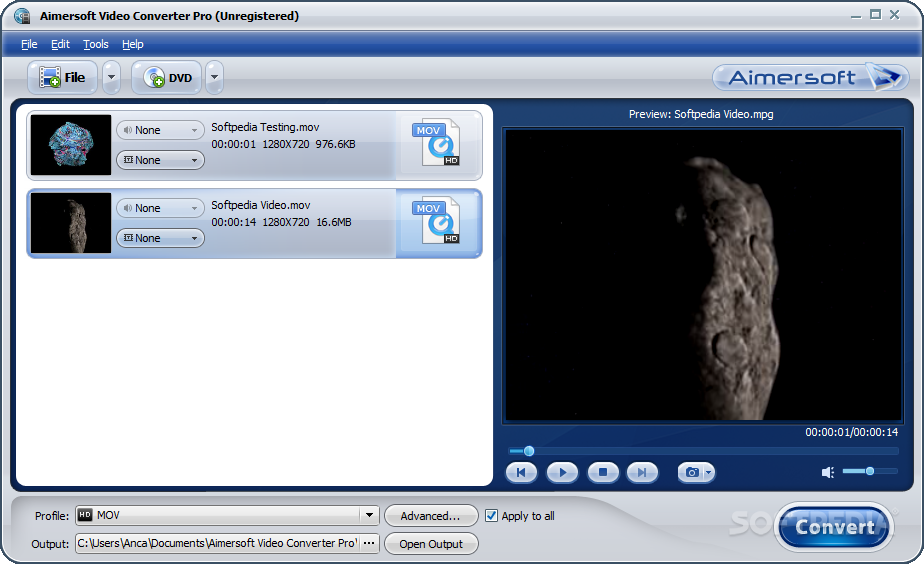 Aimersoft video converter download.