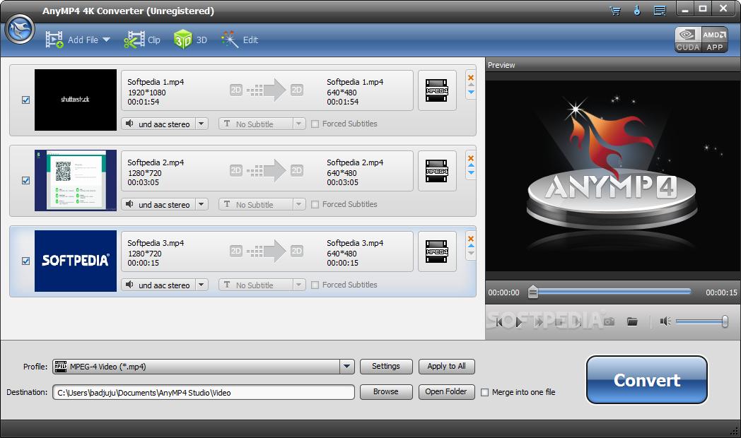 Download AnyMP4 4K Converter 7 2 18