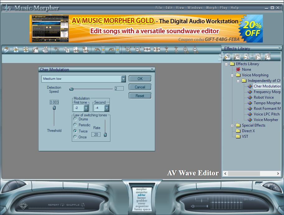 Download AV Music Morpher 5 0 59