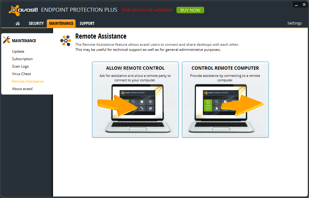 how to clean the vault on avast antivirus