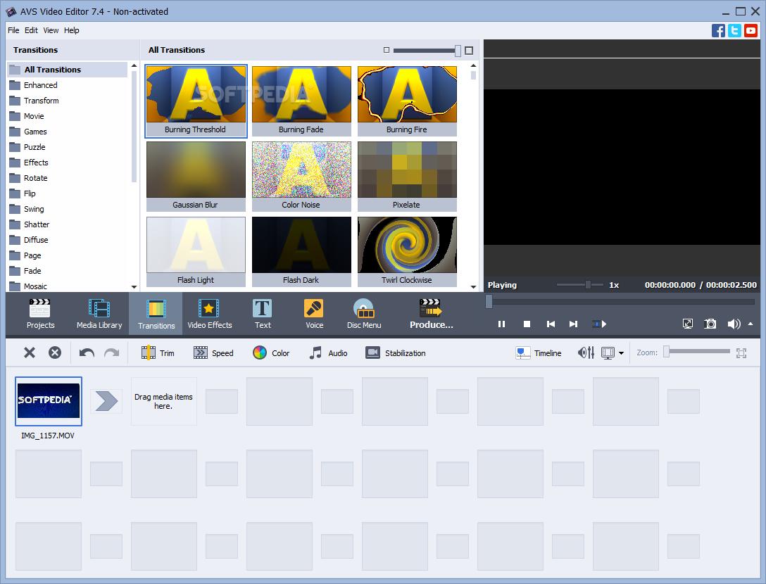 avs video editor activation key for windows 7