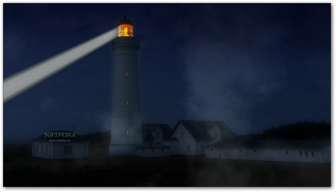 Animated lighthouse screensaver free no viruses and scanned
