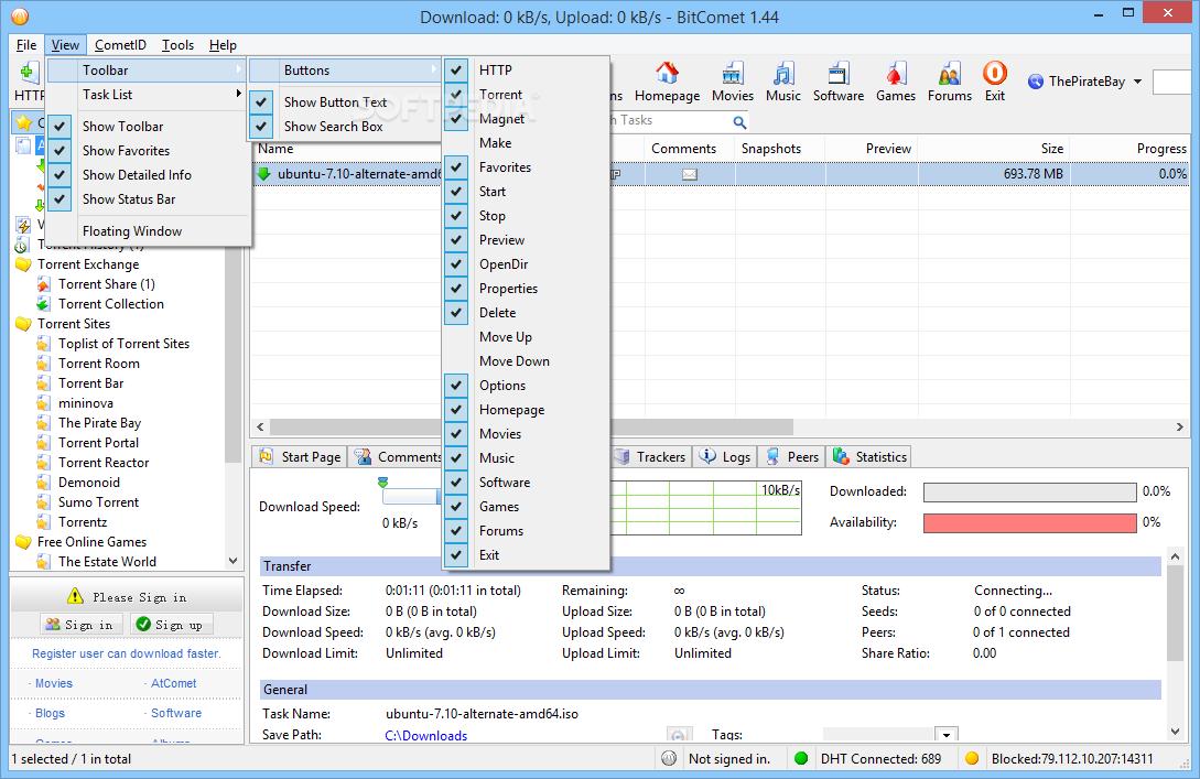 Bitcomet 64 Bit - Free downloads and reviews - CNET