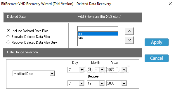 Download BitRecover VHD Recovery Wizard 5 0