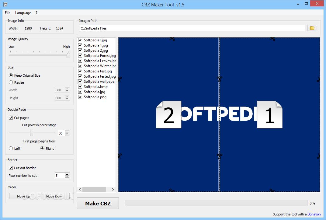 Download CBZ Maker Tool 1 6